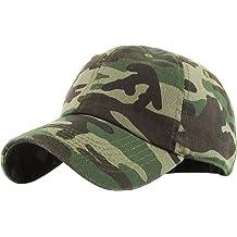 42afcb8f2fc KBETHOS Classic Polo Style Baseball Cap All Cotton Made Adjustable Fits Men  Women Low Profile Black
