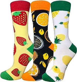 Novelty Funny Crew Socks Colorful Cute Animal Food Cool Pattern Fancy Socks Boys Girls Men Women