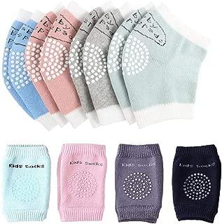 Baby Knieschoner Anti-Rutsch-Beinpolster 6-24 Monate Beinw/ärmer elastisch Kleinkinder f/ür Unisex Schutz f/ür Krabbeln