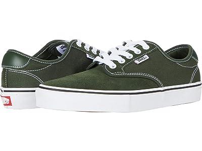 Vans Chima Ferguson Pro (Forest/White) Skate Shoes