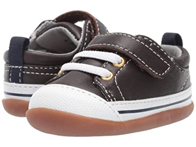 See Kai Run Kids Stevie II (Infant/Toddler) (Brown Leather) Boy