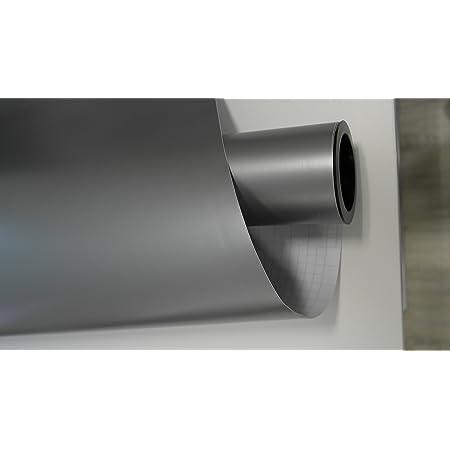 Vinie Silber Grau Matt Autofolie 500x152cm Blasenfrei Mit Luftkanäle Gratis Montageanleitung 5 39 1qm Auto