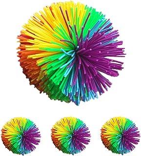 nullie スクイーズボール シリコンゴムボール ラバーボール 癒しのボンボン ストレス 集中力 (4個セット)