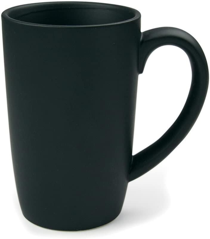 Omniware 1010887 Tall Easy Grip Mugs Set Of 4 18 Oz Black