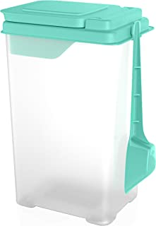 5lb Flour and Sugar Container - All Purpose Plastic Storage Keeper