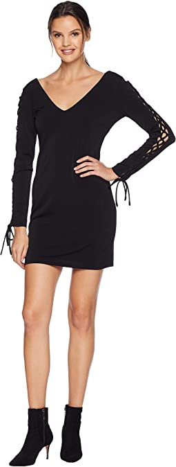 V-Neck Fit Midi Lacing Sleeve