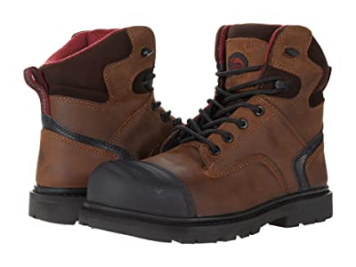 Avenger A7542 Carbon Nanofiber Comp Toe EH (Brown) Men
