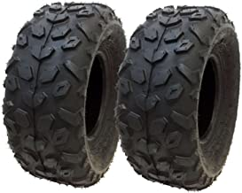 MMG Set of 2 ATV Tubeless Tires 145x70-6 (14.5x7x6) P120, Front or Rear, Compatibles with Red Cat, SUNL, Suzuki, Vento, Small ATV with 6 inches Rims