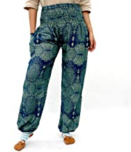 Taruron Harem Pants Summer Vibes Elastic Waist and Ankle Free Size Women Pants