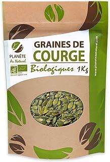 Graines de Courge Bio - 1kg (Cucurbita pepo)