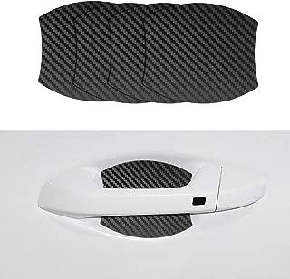 Door Handle Trim Magnetic Door Cup Paint Scratch Protector Cover Accessories for Kia Forte (4 Pcs)