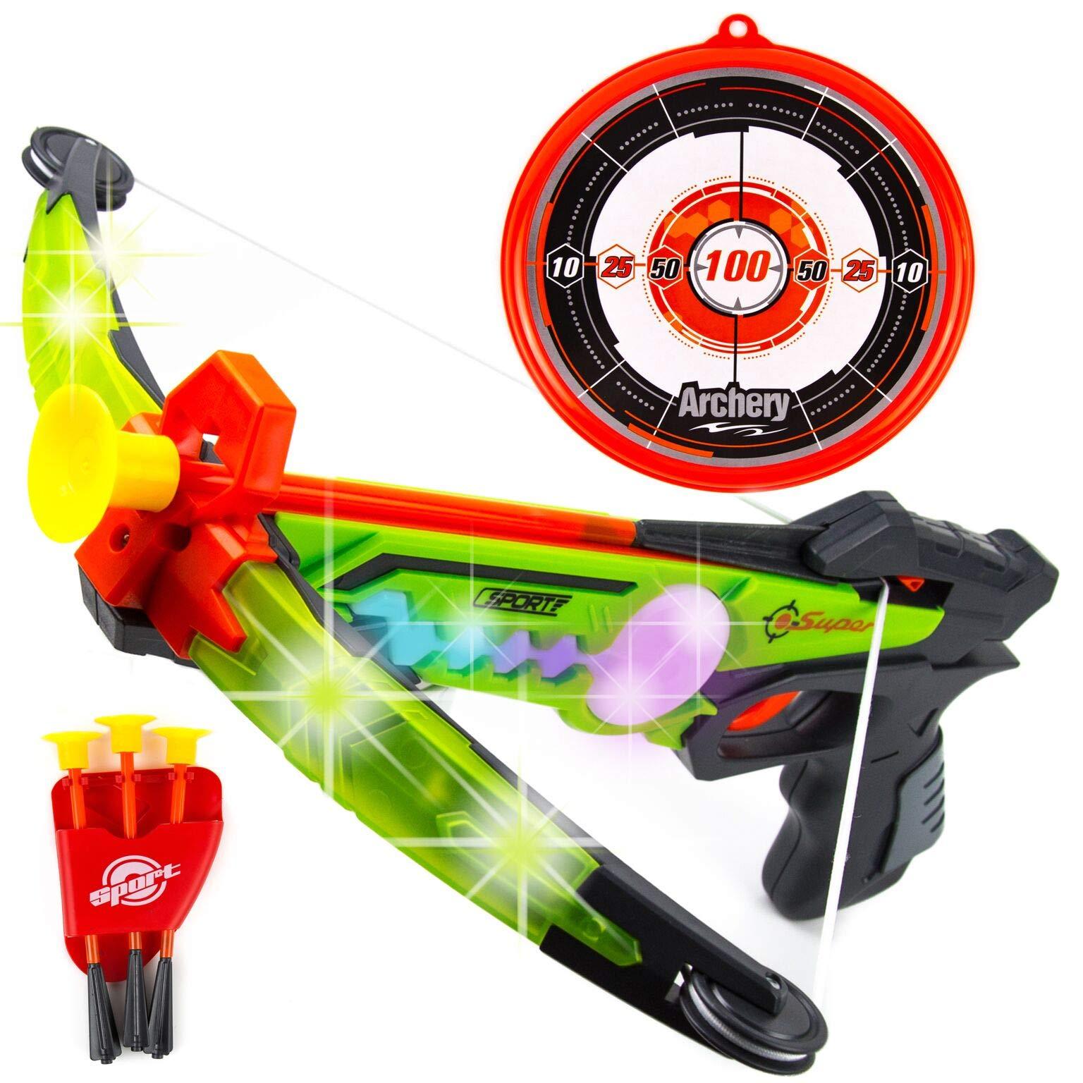 Toysery Real Crossbow Archery Set