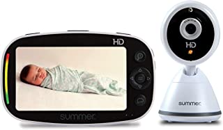 Summer Baby Pixel Zoom HD Video Baby Monitor with 5-Inch Display and Remote Steering Camera – High Definition Baby Video M...