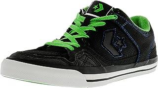 Converse Men'S Coolidge Ox Skate Shoe Black, Green, Royal (12), Black, Size 6 US