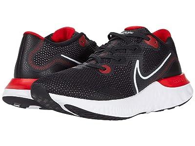 Nike Renew Run (Black/White/University Red) Men