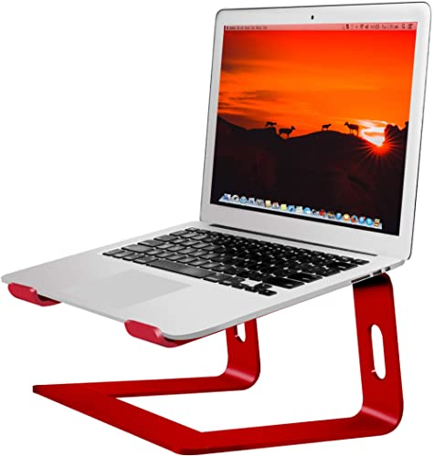 Soundance Laptop Stand, Aluminum Computer Riser, Ergonomic Laptops Elevator for Desk, Metal Holder Compatible with 10...