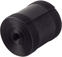 """Yebazy 4"""" x 10ft Black Cable Grip Strip Carpet Floor Cable Cover Professional Secure Cord Protector for Carpet"""