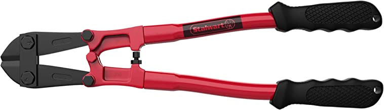 """Stalwart 75-HT40096 14"""" Bolt Cutter- Drop Forged Hardened Alloy Steel & Ergonomic Grips-Cuts 5/8"""" Chains, Wires, Rods, Bolts, Padlocks, More-Hand Tools"""
