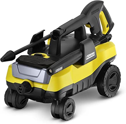 Karcher K3 Follow-Me Electric Power Pressure Washer with 4 Rolling Wheels, 1800 PSI