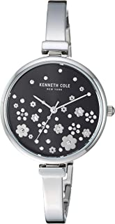 Kenneth Cole New York Women's Classic Japanese-Quartz Watch with Stainless-Steel Strap, Silver, 6 (Model: KC50746001)