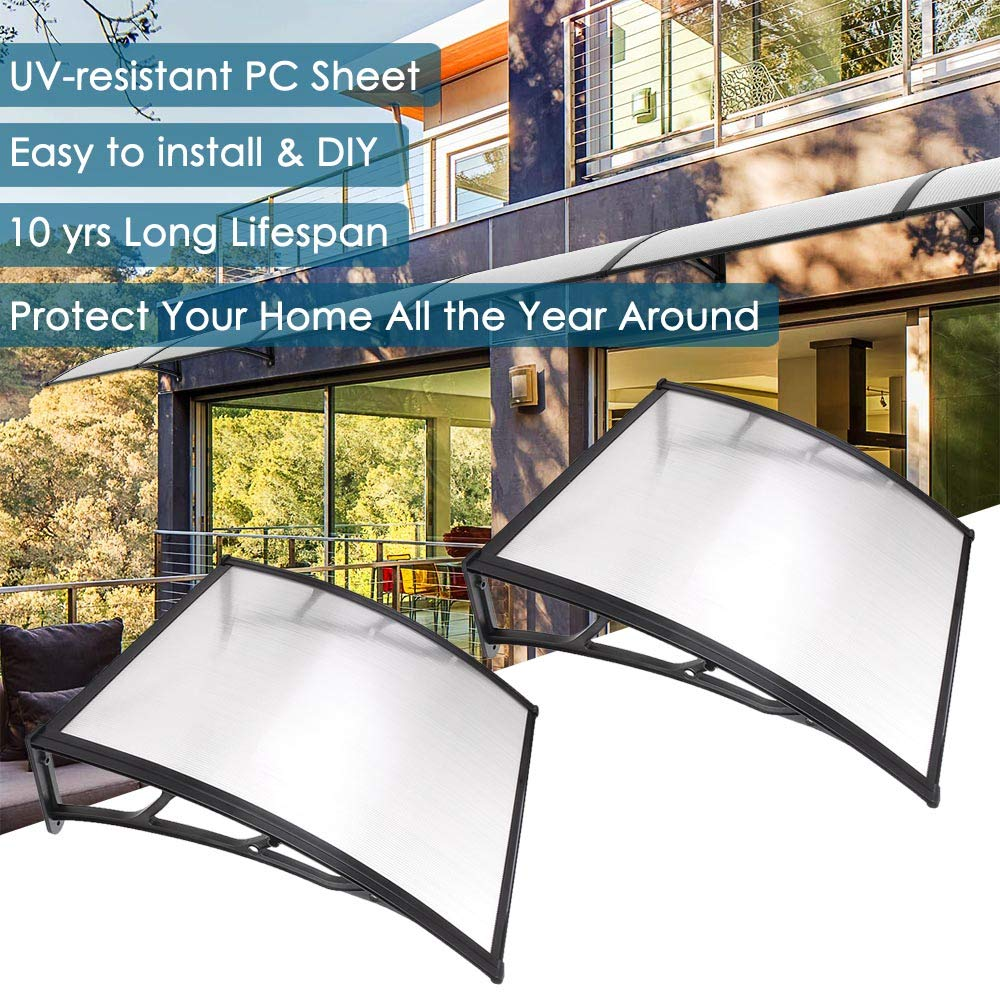 Yescom Outdoor Protection One Piece Polycarbonate
