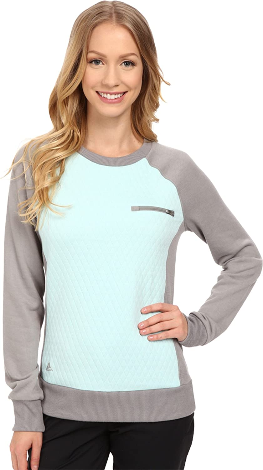 adidas Golf Women's Max 83% OFF Essentials Crew Quilted Shirt Animer and price revision