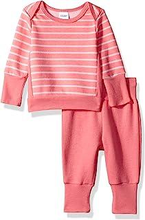 Hanes Ultimate Baby Flexy Adjustable Fit Jogger با ست پیراهن