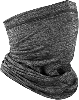 Dust Protection Breathable Bandana Balaclava Neck Gaiter Headwear Face Cover for Saliva 2 Pcs with 10Pcs Filters Outdoors for Women Hepa Headbands Washable Half Face Scarf