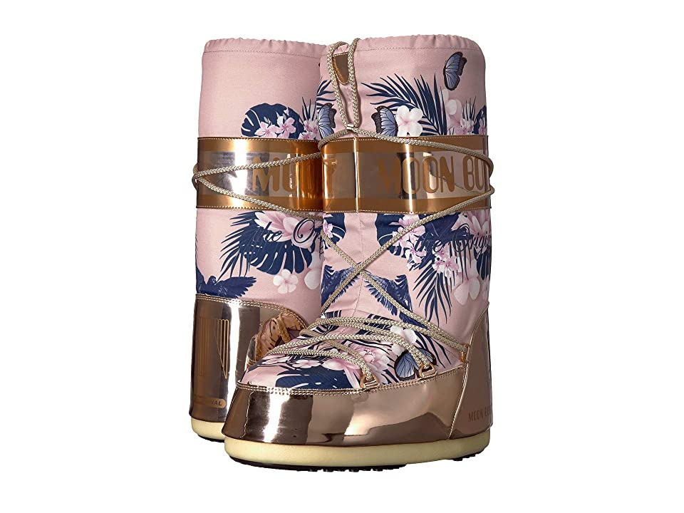 Tecnica Moon Boot Tropical Mirror (Copper/Cameo Rose) Boots