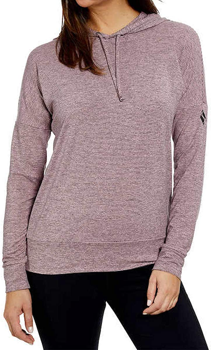 Skechers Go Walk Wear Women's Relaxed Fit Long Sleeve Hoodie Pullover