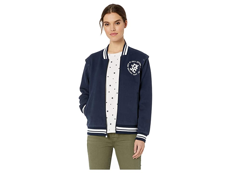 Juicy Couture JXJC La Convertible Bomber Jacket (Regal) Women