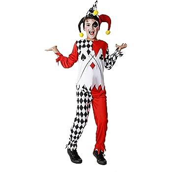 Costumizate! Disfraz de Arlequín Talla 10-12 Especial para niños ...