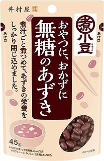 井村屋 無糖のあずき 45g ×8個