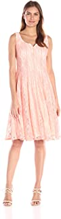 Women's All Over Lace A-line Dress