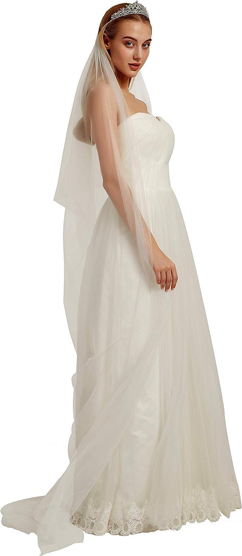 Bridal Veil with Crown Shoulder Cape Veil Tulle Crown Veils for Brides Draped Veil Wedding B016