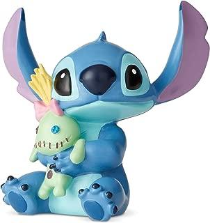 Enesco Disney Showcase Lilo and Stitch Doll Mini Figurine, 2.5 Inch, Multicolor