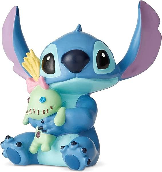 Enesco Disney Showcase Lilo And Stitch Doll Mini Figurine 2 5 Inch Multicolor