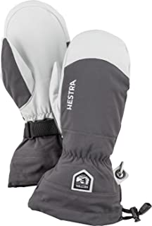 Mens and Womes Ski Gloves: Army Leather Wind-Proof Water Resistant Winter Mitten
