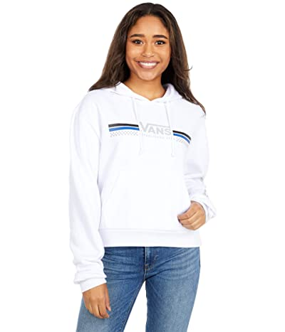 Vans Sporty Crop Pullover Hoodie (White) Women