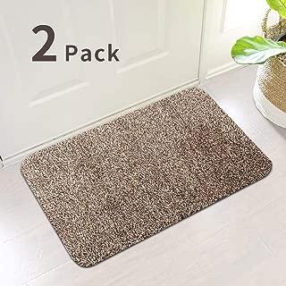 2Pack Indoor Doormat Absorbs Water 28