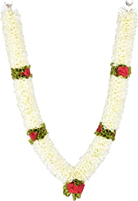 Daedal Crafters-Artificial Medium Size Artificial Garland(75cms), Off White DC68