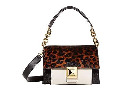 Furla Diva Mini Shoulder Bag (Toni Naturali/Onyx) Handbags