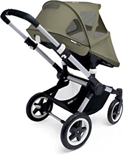 Bugaboo Buffalo Breezy Sun Canopy for Stroller, Dark Khaki