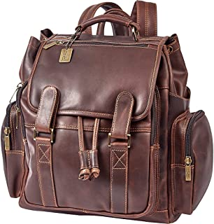 Claire Chase Legendary Jumbo Backpack Business, Dark Brown, One Size