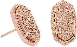 Women's Ellie Earring Rose Gold/Rose Gold Drusy Earring