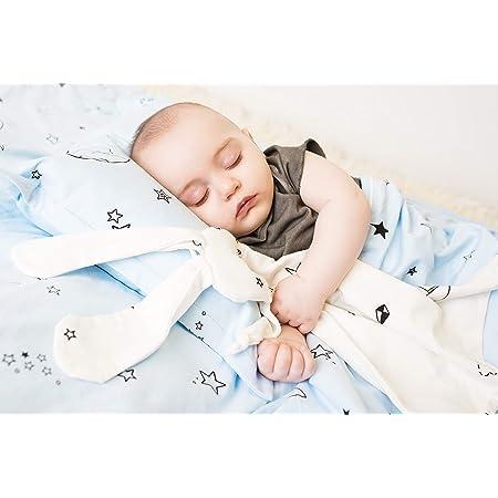 lovie,bunny-organic Security blanket organic,stars print,origami,baby gift,baby shower,baby accessories lovey lovey blanket,lovie blanket
