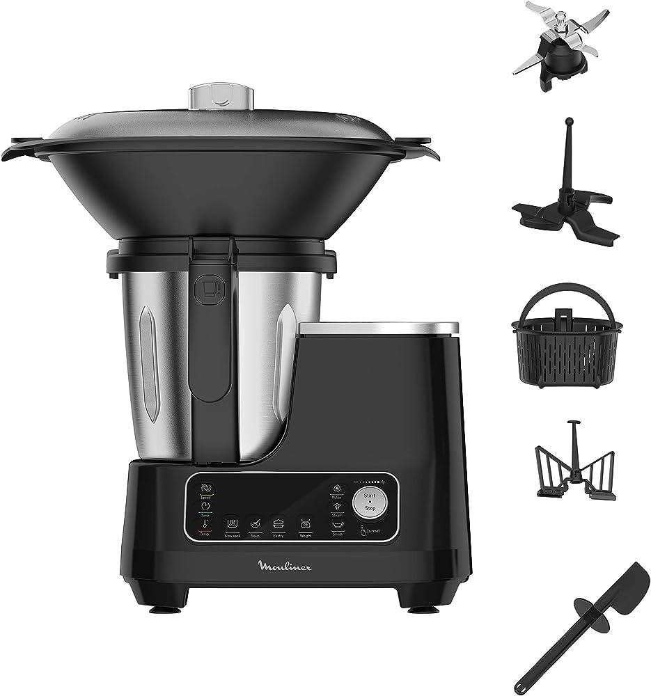 Moulinex, robot da cucina con funzione di cottura ?HF4568
