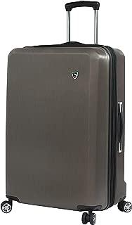 Italy Moda Hardside 24 Inch Spinner Luggage, Burgundy