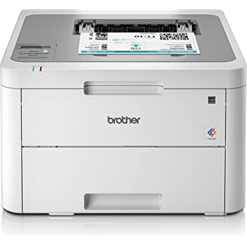 Brother HL-L3210CW Colour Laser Printer - Single Function, Wireless/USB 2.0, Compact, A4 Printer, Small Office/Home Office Printer