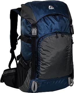 Everest Weekender Hiking Pack, Navy/Gray